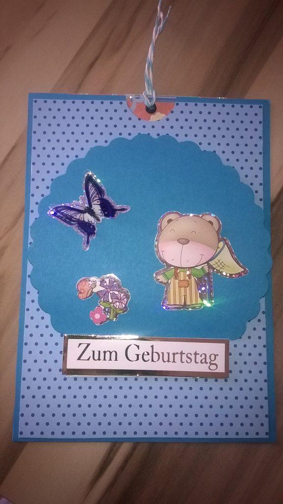 05.05.2014 - Geburtstagskarte