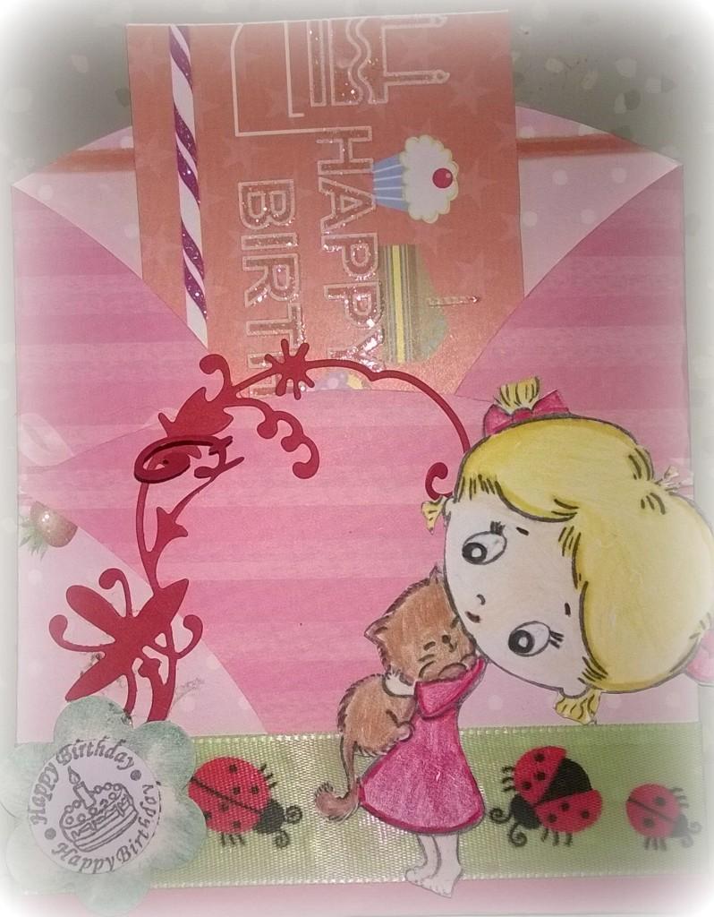 18.07.2014 - Geburtstagskarte