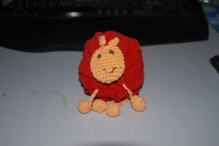Das zweite Pompon-Schaf