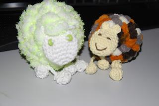 Das dritte Pompon-Schaf