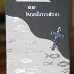 15.04.2013 - Einladungskarte zur Konfirmation