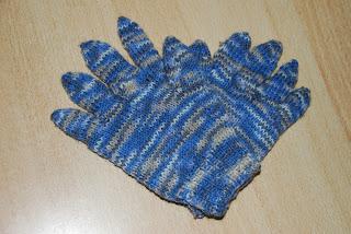 Handschuhe die Ersten