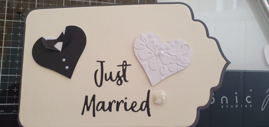 11.08.2020 - Glückwunschkarte zur Hochzeit